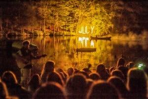 JULY canoe