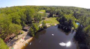 2 camp drone lake