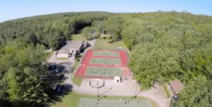 3 camp drone tennis