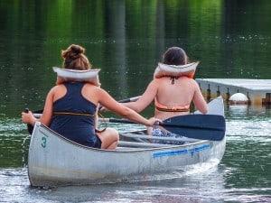 canoe back