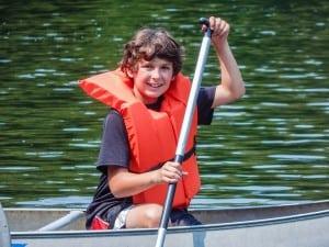 canoe boy